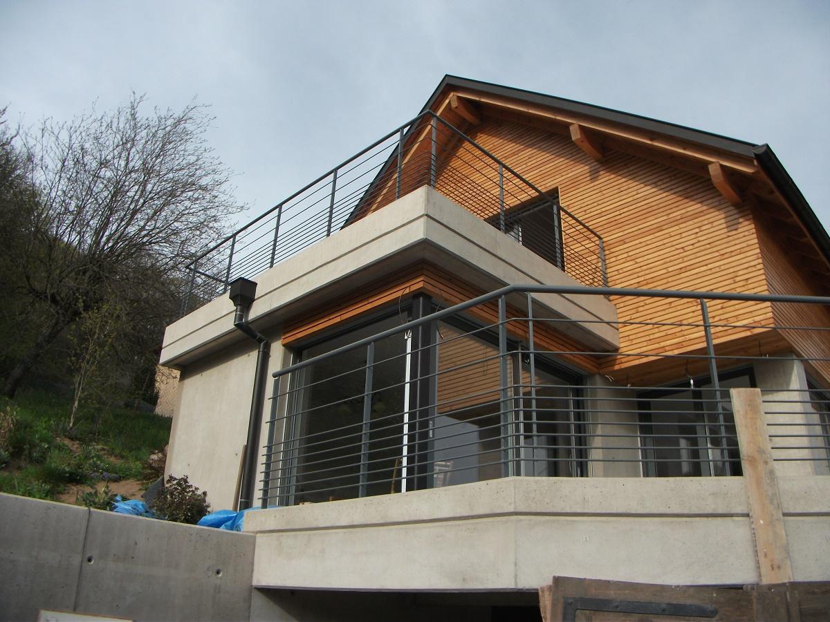 garde corps de terrasse 2 feu fer forge. Black Bedroom Furniture Sets. Home Design Ideas