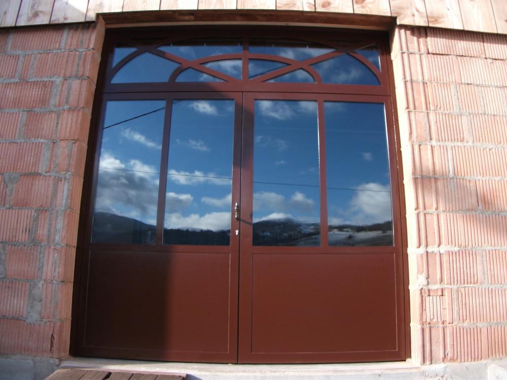 Feu fer forgeporte d 39 atelier en profil s acier for Porte verriere atelier
